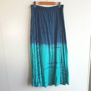 TRYST By Matthew Dip-Dye Maxi Skirt